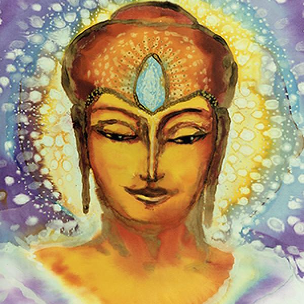 Foto van een schilderij van Mayatrea