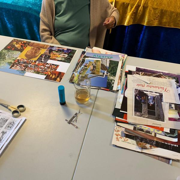 Workshop-Spirituele collage