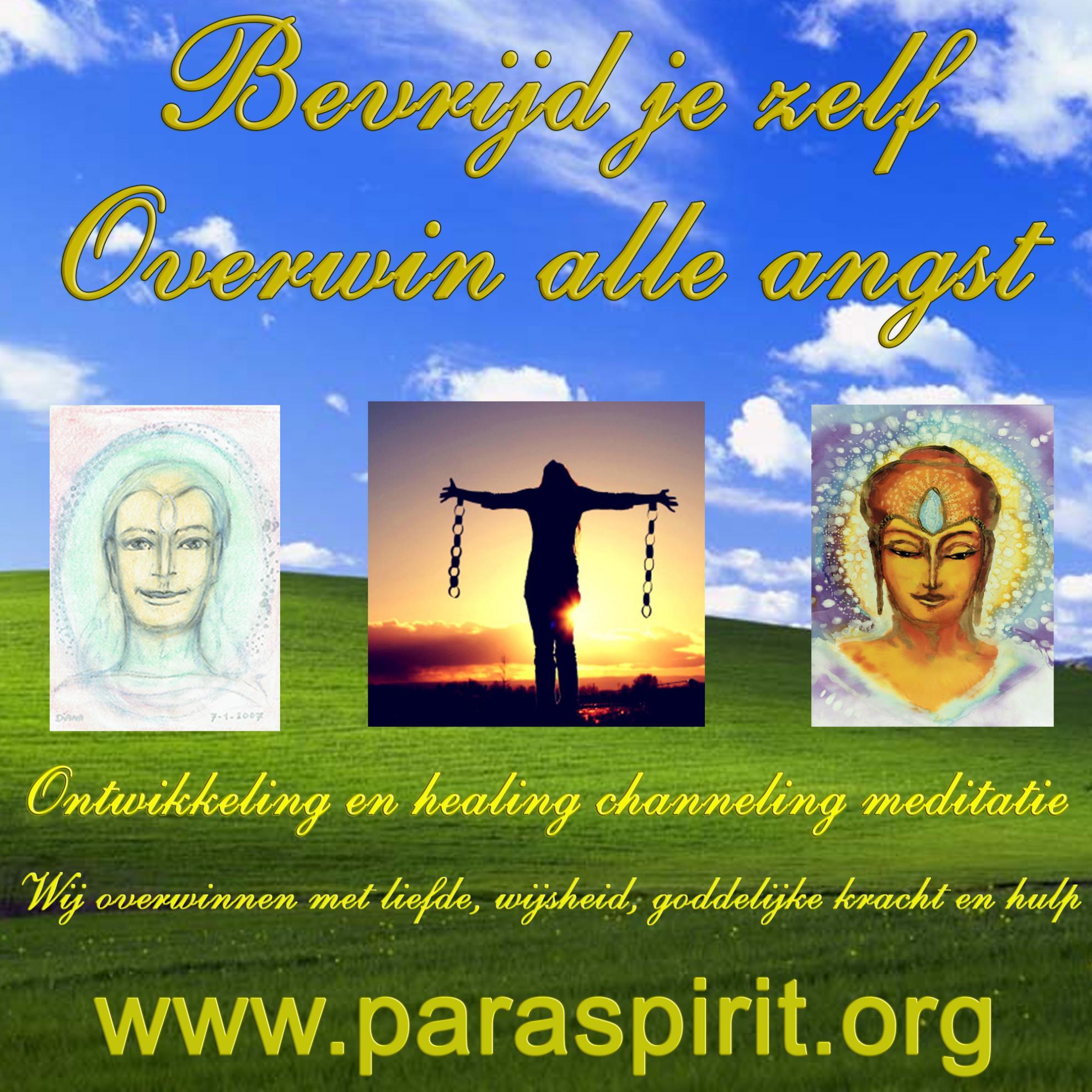 meditatie healing channeling angst